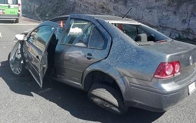 Muere mujer en choque automovilístico en la Autopista del Sol, otra resulta herida