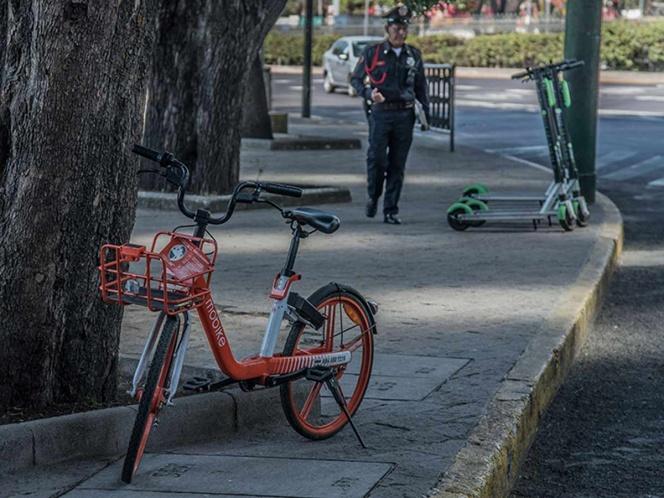 Organizaciones vecinales inmovilizarán bicis y scooters