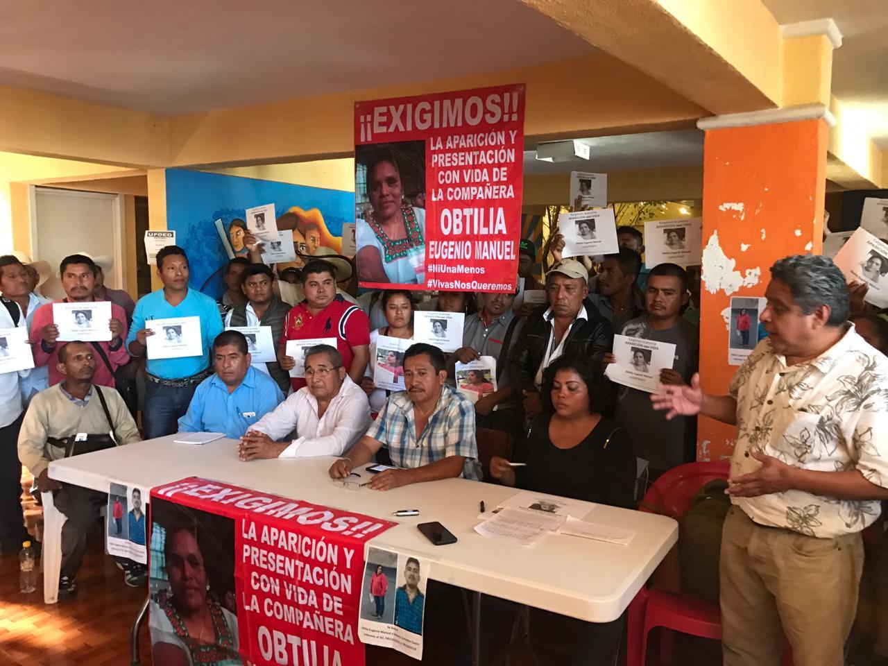 Exige Concejo de Ayutla que FGR atraiga investigación por la desaparición de Obtilia