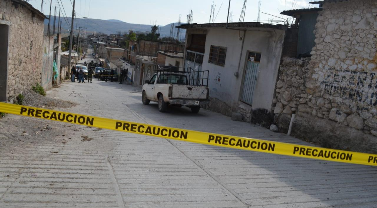 A balazos, asesinan a un campesino en Zitlala