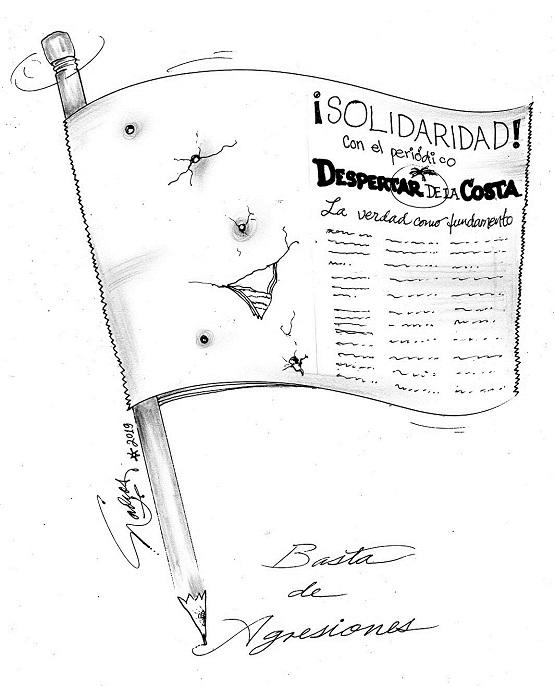 El Cartón de Nacho´s: ¡SOLIDARIDAD CON DESPERTAR DE LA COSTA!