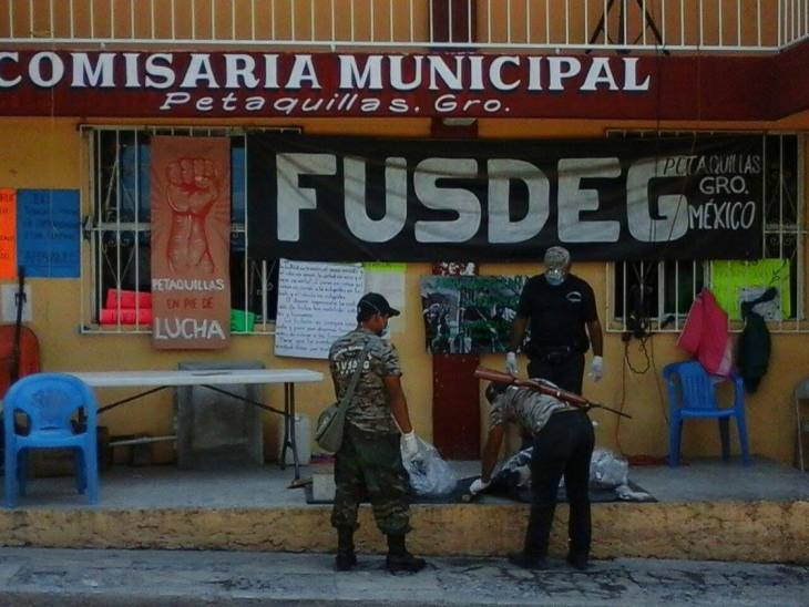 Se suma FUSDEG a búsqueda de activistas Obtilia e Hilario