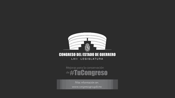 (Video) Ahorros para la rehabilitación y modernización del Congreso de Guerrero.