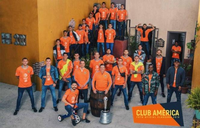 América se toma la foto oficial en la vecindad del Chavo