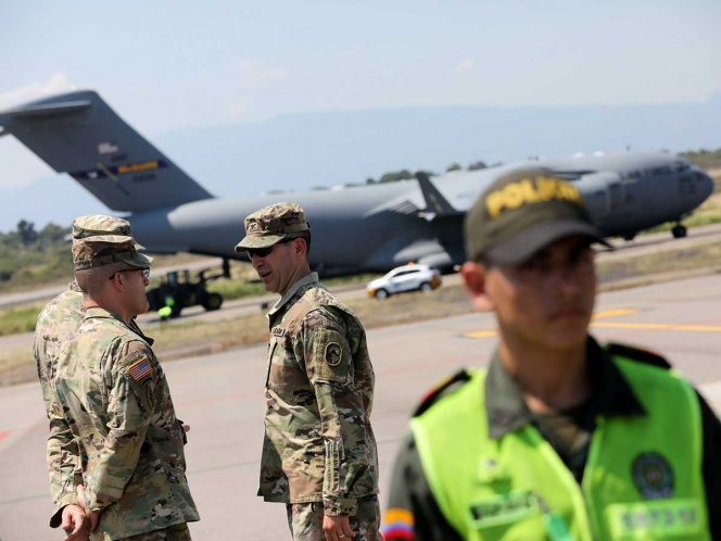 Aviones de EU llegan a Colombia con ayuda para Venezuela