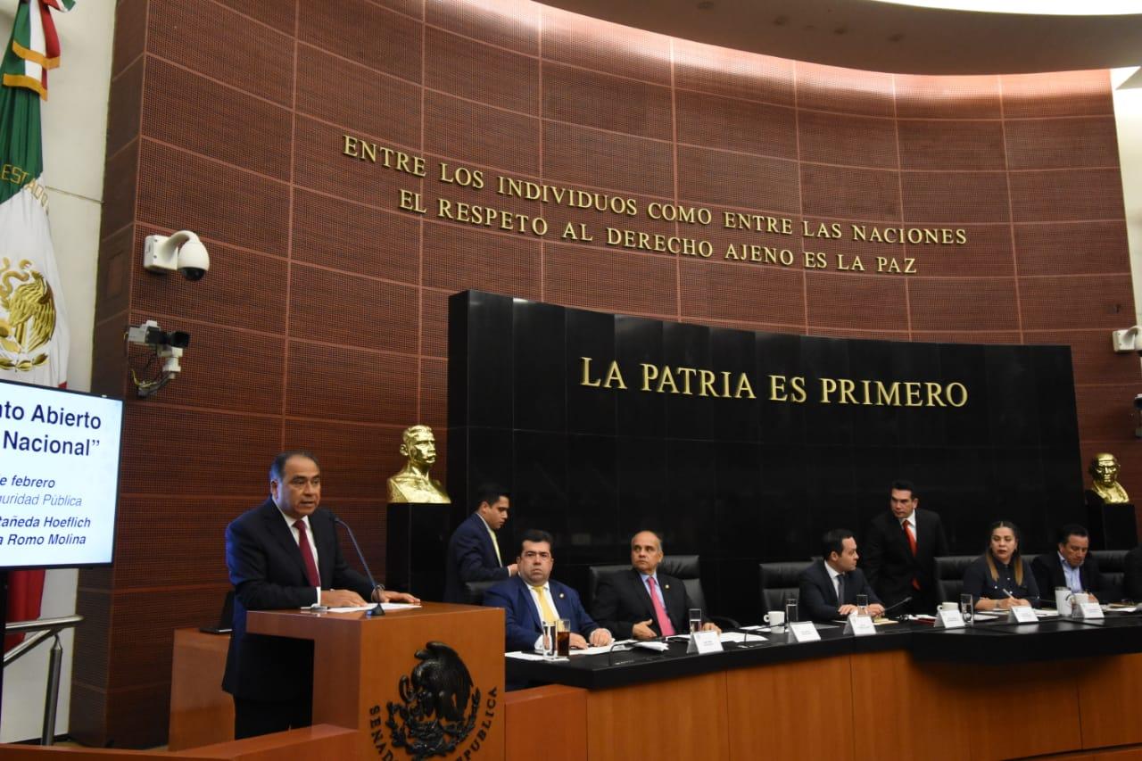 Refrenda el gobernador Astudillo su respaldo a la guardia nacional
