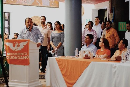 Renueva Movimiento Ciudadano dirigencia en Chilpancingo