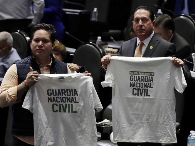 Diputados cierran filas para aprobar Guardia Nacional en San Lázaro