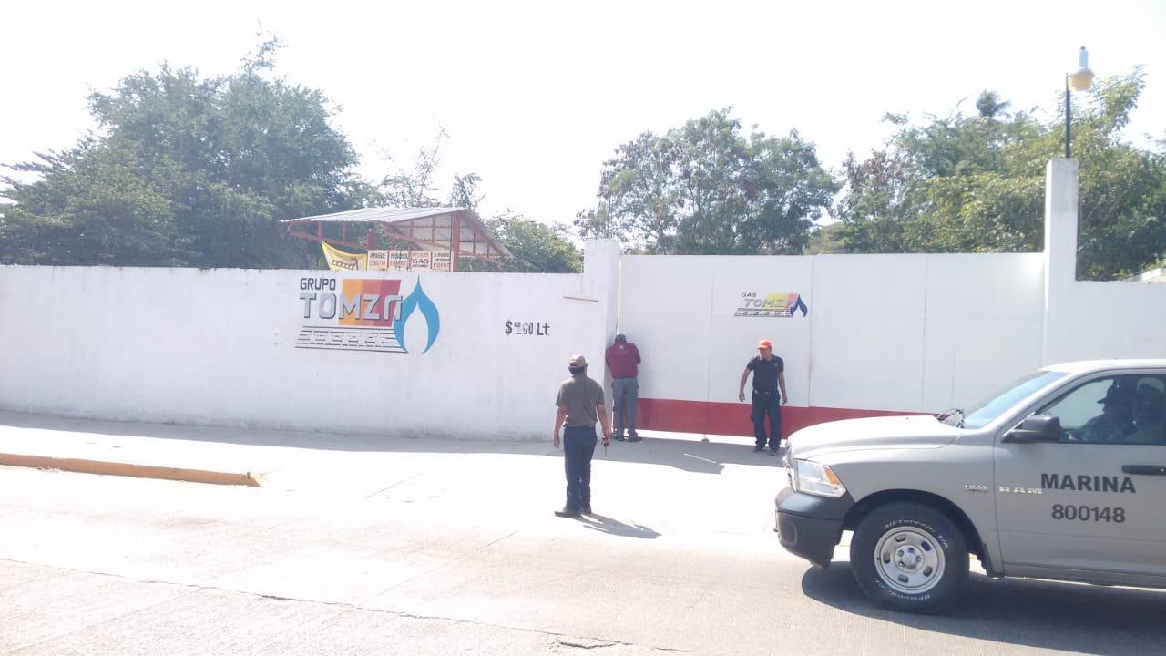 Clausura Grupo Pacificación otras 3 estaciones de carburación de gas LP
