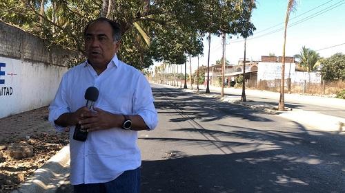 Supervisa Héctor Astudillo trabajos de modernización de la carretera Pie de la Cuesta-Barra de Coyuca