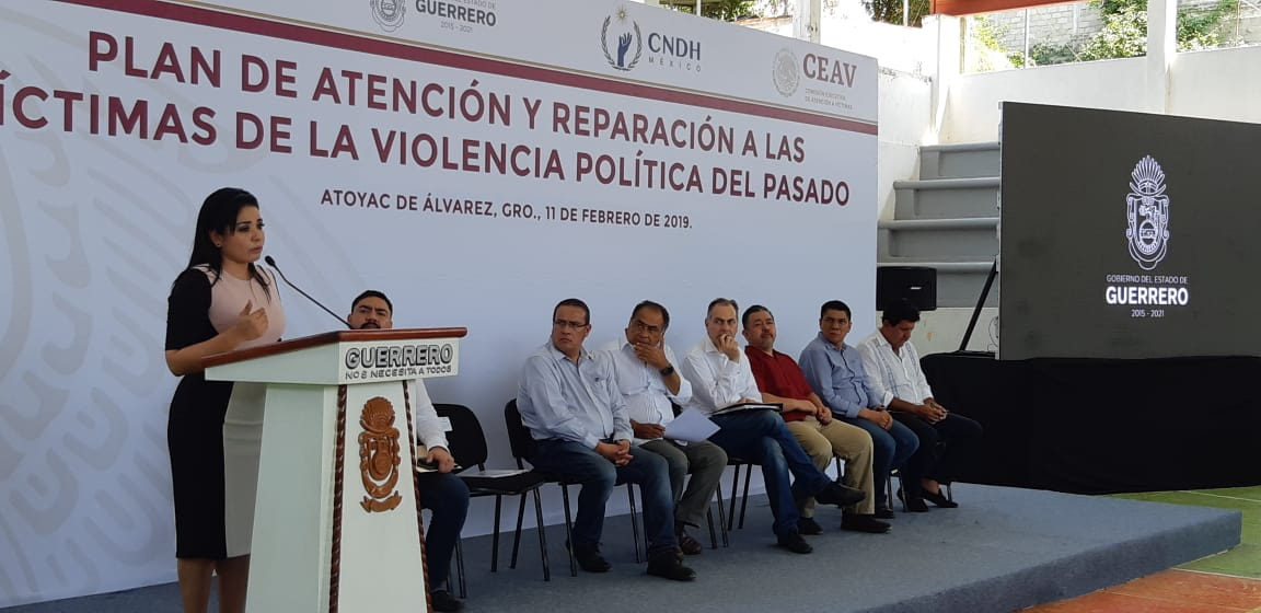 """Ponen en marcha en Atoyac, Plan para atender a víctimas de la """"Guerra Sucia"""""""