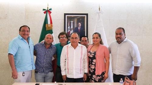 Respaldan industriales a Astudillo en su planteamiento de mantener precios de la masa y la tortilla