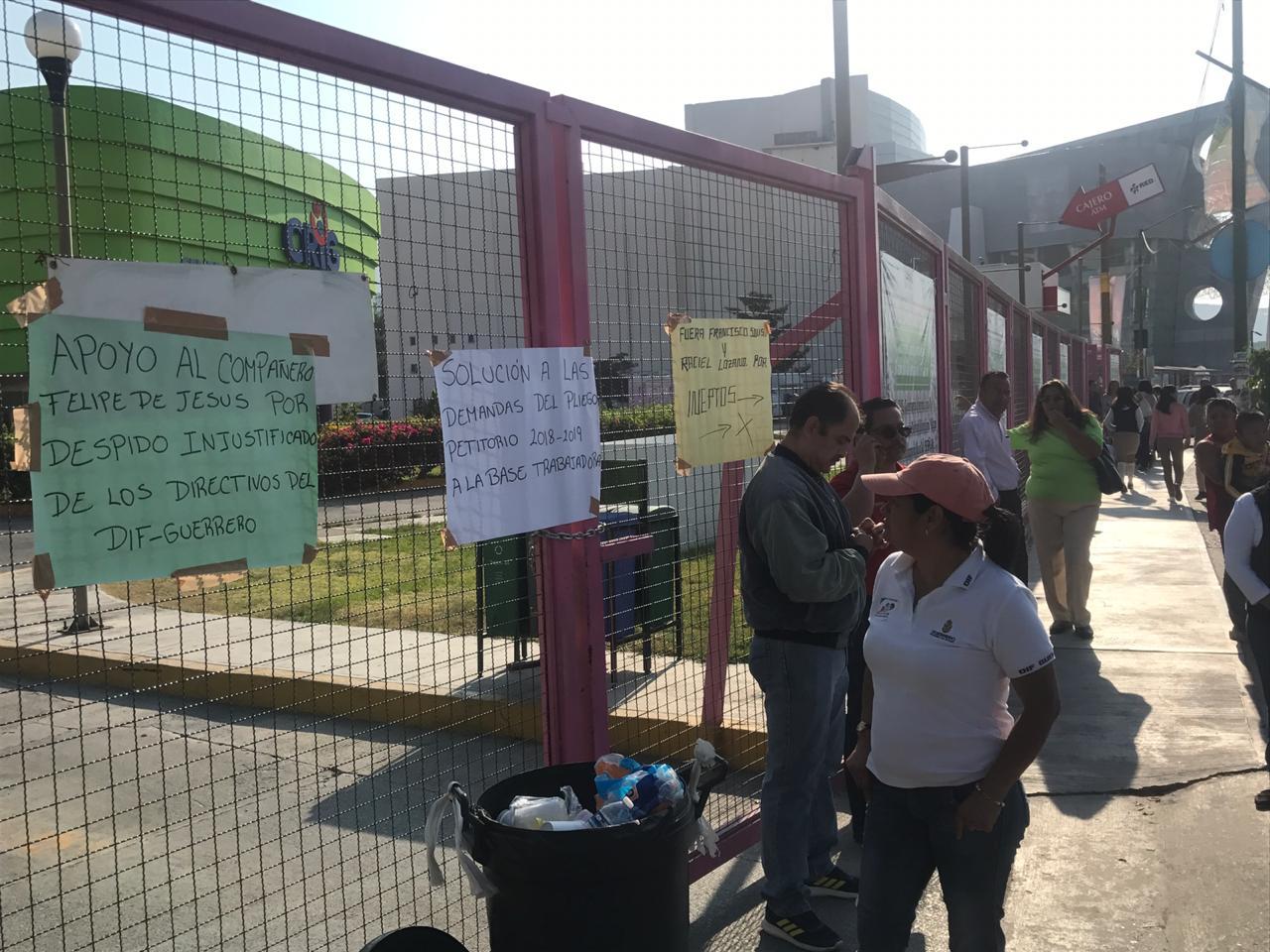 Toman el CRIG de Chilpancingo en defensa de trabajador despedido injustificadamente