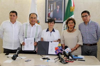 (Video) Presenta Adela Román proyectos a Conagua para mejorar abasto