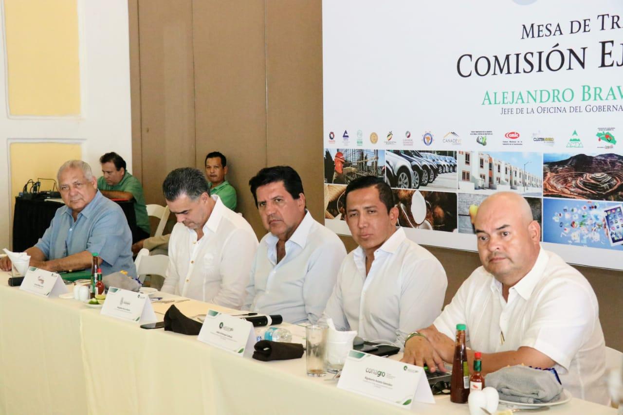 Revisan el tema de desarrollo economice e industrial de Guerrero
