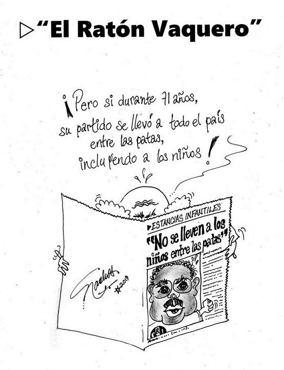 """El Cartón de Nacho´s:  """"EL RATÓN VAQUERO"""""""