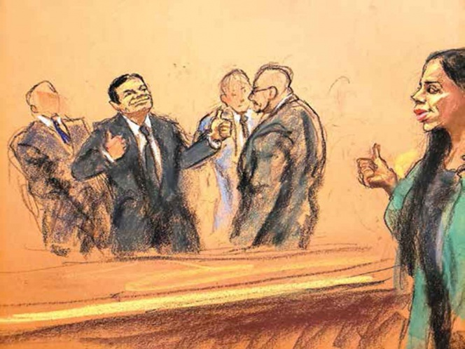 Chapo no pudo escaparse de EU; enfrentará pena de cadena perpetua