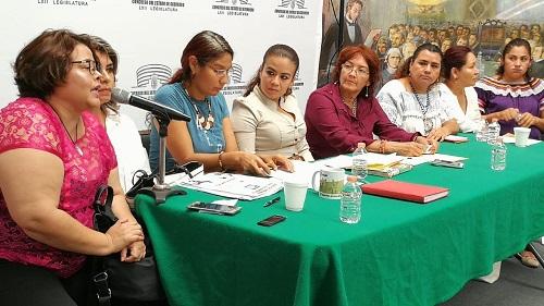 Exigen diputadas respeto a paridad de género del Congreso de Guerrero