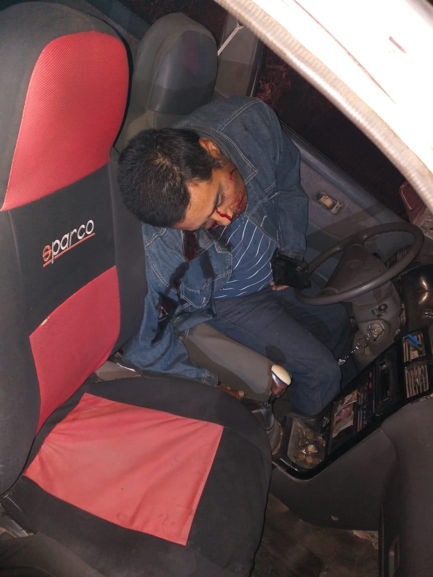 Asesinan a un taxista en la colonia La Joya de Chilapa