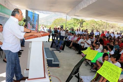 Supervisa el gobernador obras en la Colosio y anuncia otras en la zona Diamante