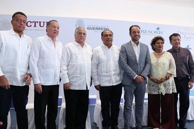 Formalizan gobernador, Sectur México y AMRESORTS inversión de 35 mdd en hotel de lujo en Acapulco