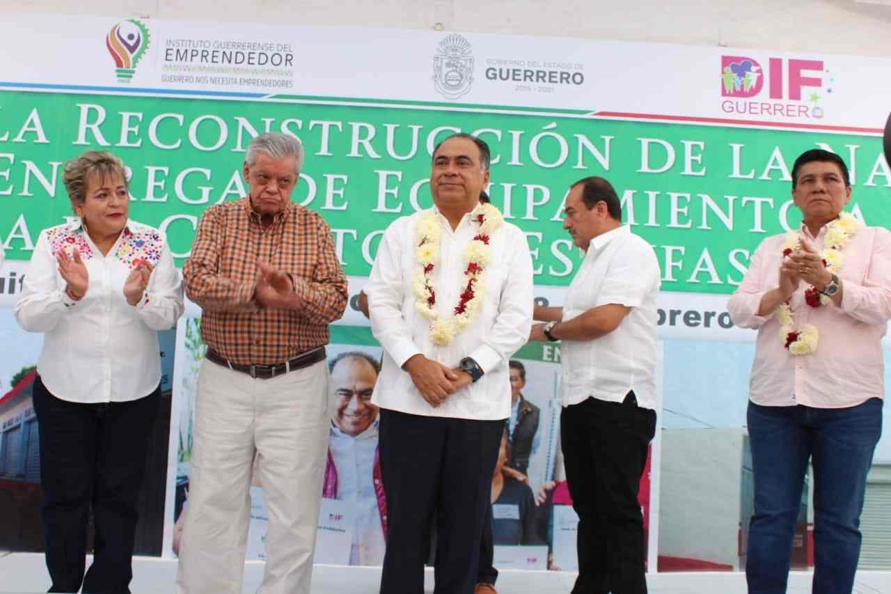 Reitera gobernador Astudillo que seguirá siendo un aliado de Huitzuco