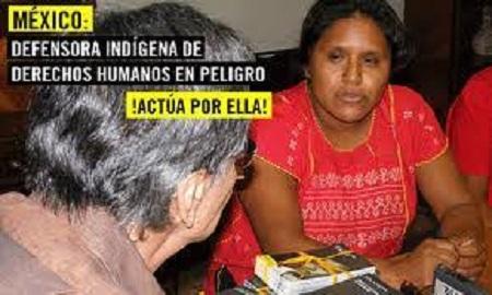 Reportan la desaparición de la activista Obtilia Eugenio de la OPIM, y un acompañante