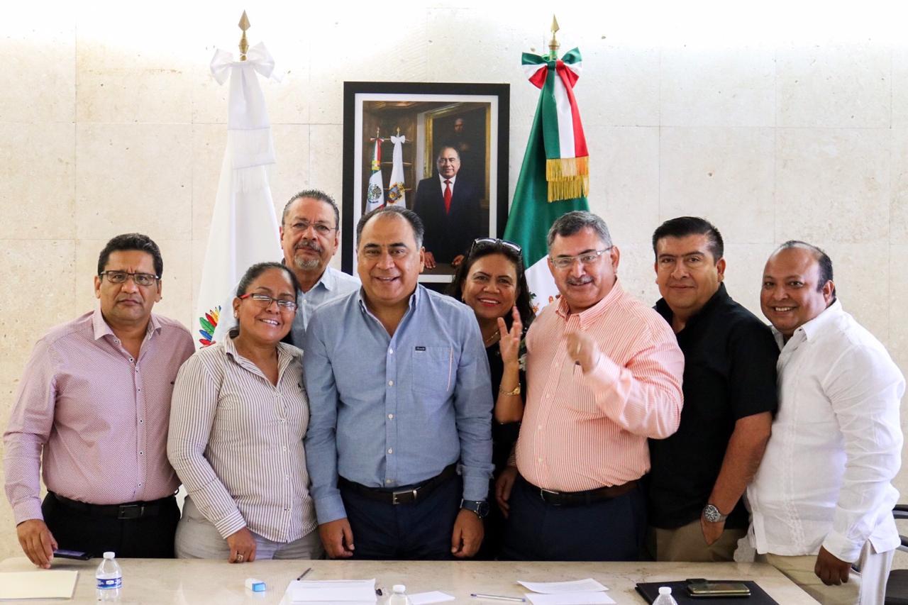 Se reúne Gobernador Héctor Astudillo con barra de Acapulco del Colegio de Abogados