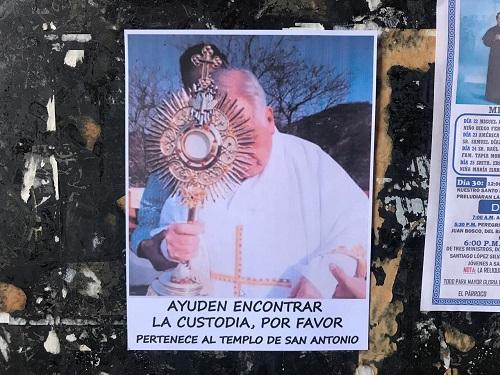 Se roban la custodia del templo de San Antonio, en Chilapa
