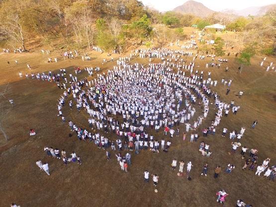 Cientos de familias se dan cita en la Zona Arqueológica de Tehuacalco por el equinoccio de primavera