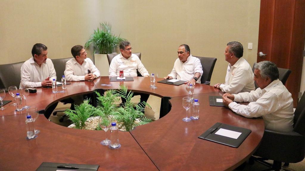 Astudillo Flores confirmó que es aliado de las y los maestros.