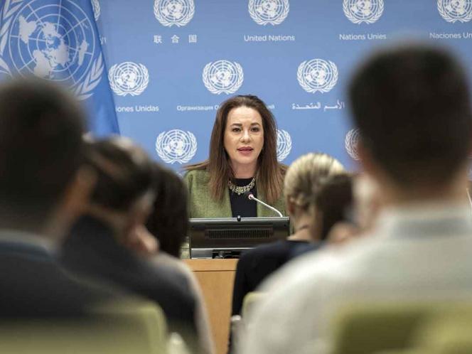 Por tema migratorio, presidenta de la ONU se reunirá con López Obrador