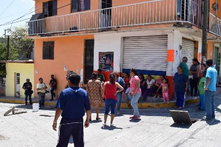 No hay agua potable en Chilpancingo, salvo en la colonia donde vive la mamá del presidente municipal