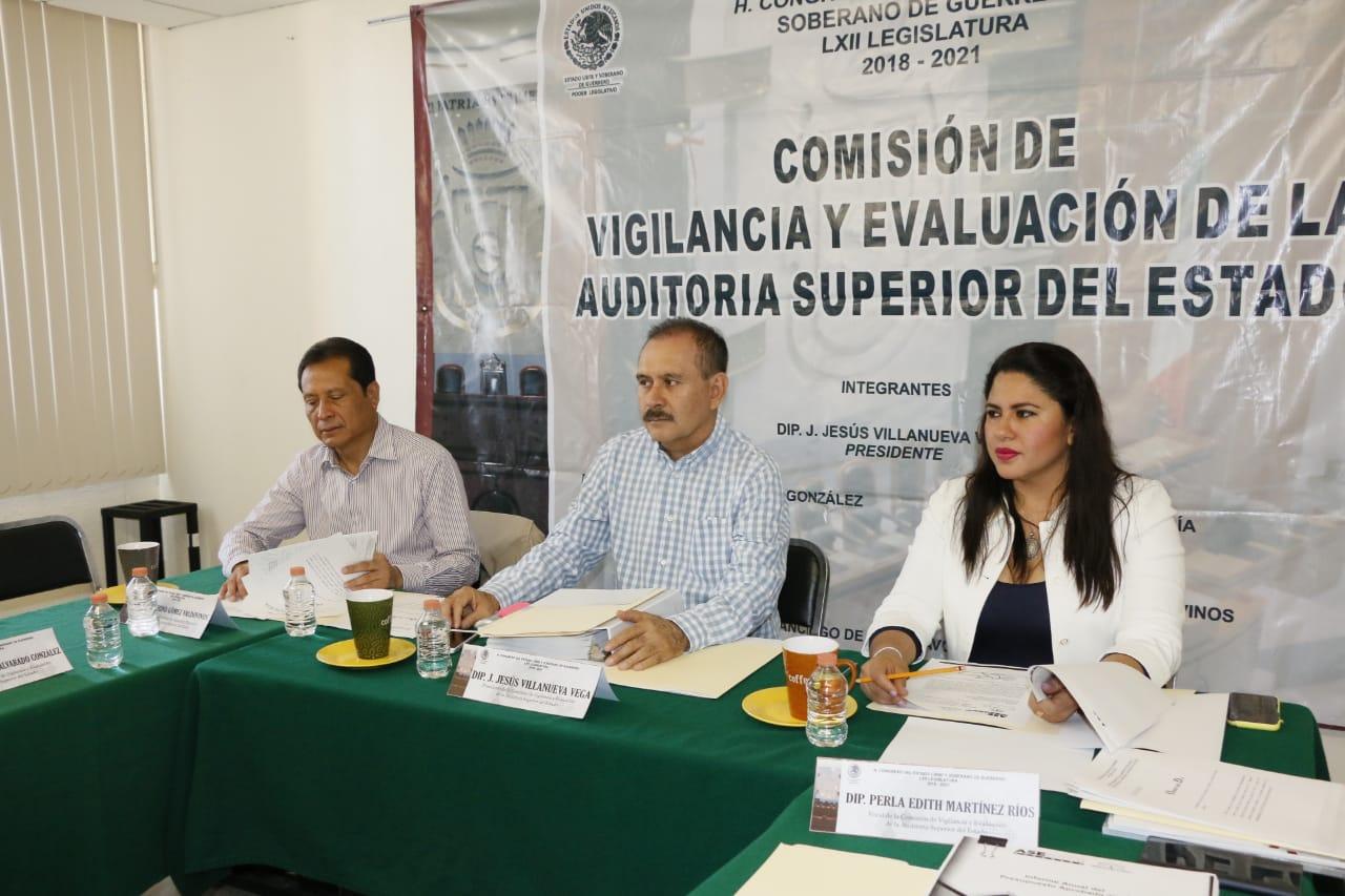 La Comisión de Vigilancia y Evaluación de la ASE citará al auditor del estado para conocer el proceso de fiscalización 2018