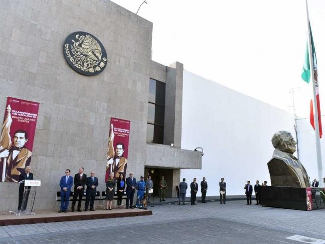 Legado de Juárez, ejemplo que sigue el Gobierno: Sánchez Cordero