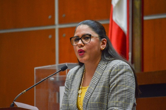No existe conflicto de intereses, si la diputada Perla Edith Martínez , conoce del seguimiento de las auditorias que le siguen a la administración de su esposo Evodio Velázquez Aguirre