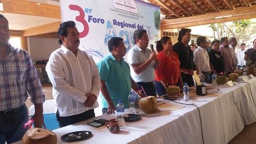 (Video) Realiza Comisión del Agua del Congreso su tercer foro en Marquelia