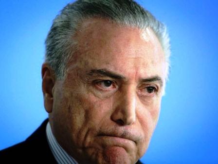 Por corrupción, detienen en Brasil al expresidente Michel Temer