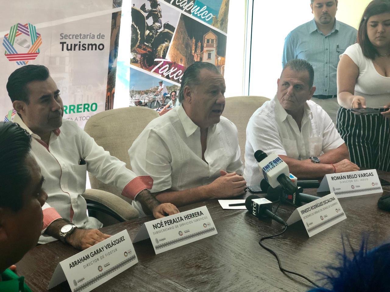 Más de dos mil deportistas se darán cita en la Carrera Imagen Tianguis Turístico, da a conocer Rodríguez Escalona.