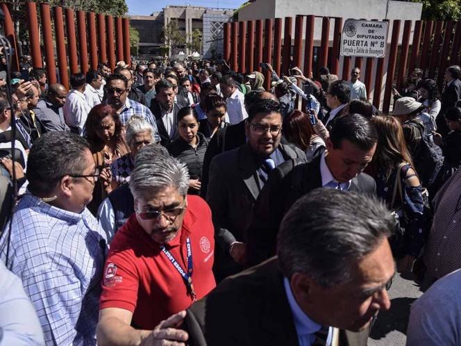 Con toda evidencia, CNTE no quiere resolver el problema: Muñoz Ledo