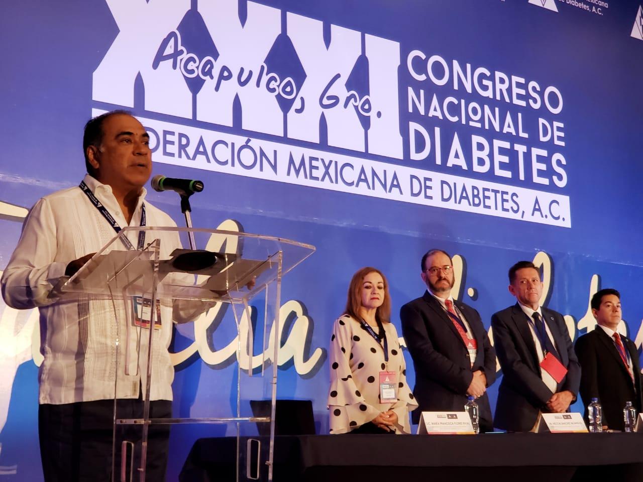 Más de dos mil participantes en el Congreso Nacional de Diabetes; inaugura este evento el gobernador