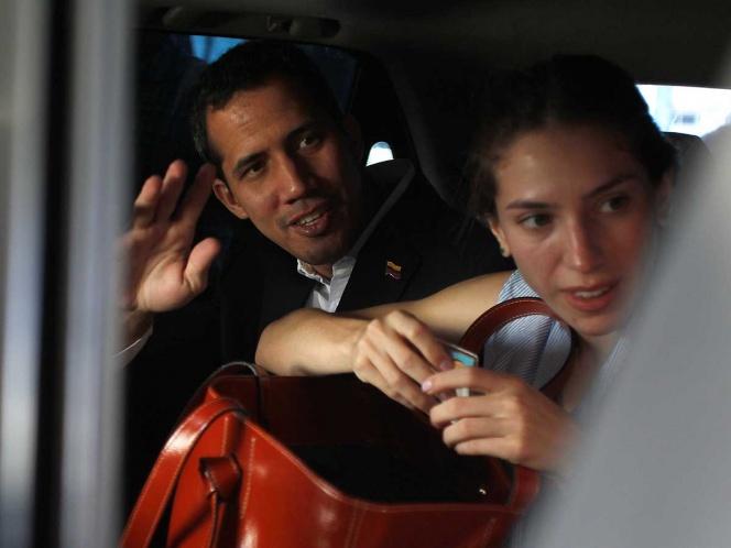 Guaidó regresa sin contratiempos a Venezuela
