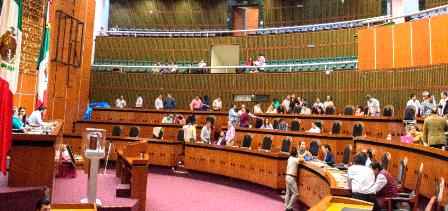 Morena hace valer su mayoría en el Congreso de Guerrero y aprueba prisión preventiva oficiosa