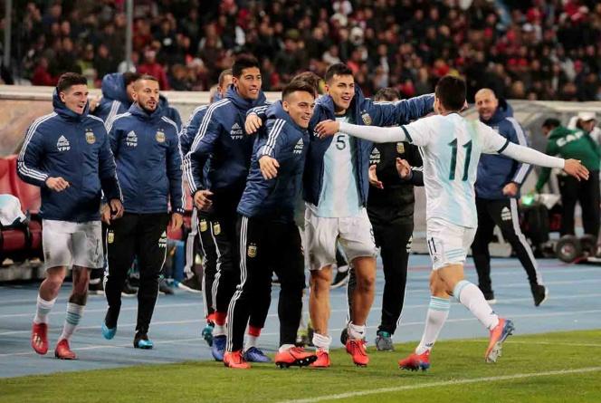 Deslucido triunfo de Argentina ante Marruecos