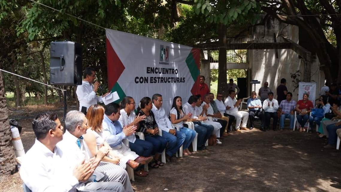 Reclamos en Costa Grande al dirigente estatal del PRI, por desaires del PVEM y abandono de su partido