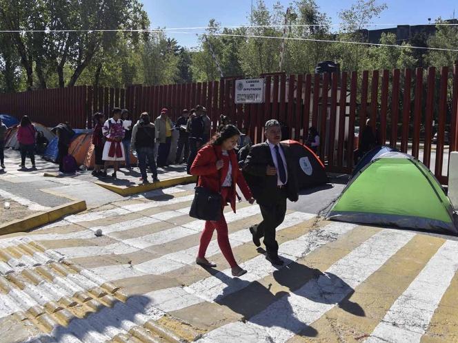 Pese a bloqueo, Mesa Directiva cita a sesión ordinaria el jueves en San Lázaro