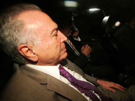Liberan al expresidente brasileño Michel Temer