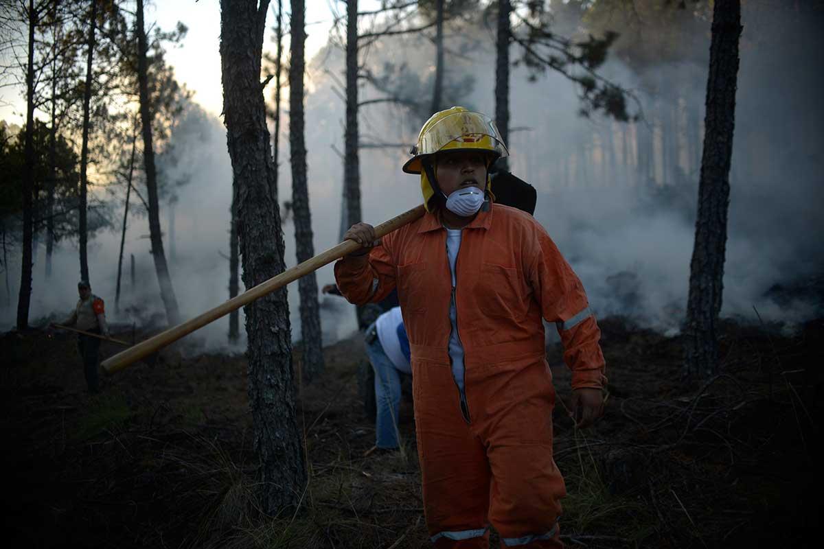 En un día, incendio en Las Vigas, Veracruz ha consumido 400 hectáreas