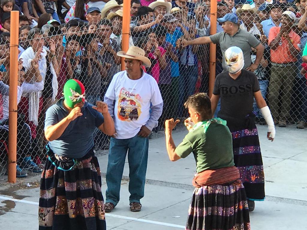 """Zitlala Guerrero vive la """"Pelea de los Xochimilcas"""""""