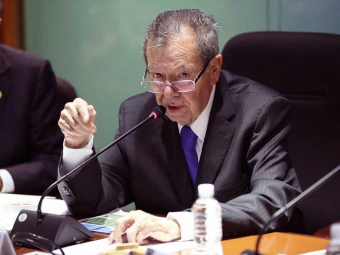 Responde Muñoz Ledo al PAN y lo califica de 'golpista'